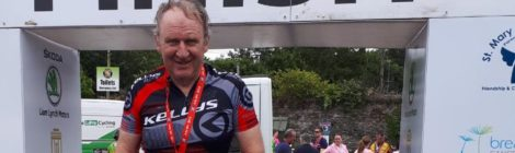 Thank you Gerry Breen and very well done on completing the Kerry Cycle 2019 in aid of Parentline.